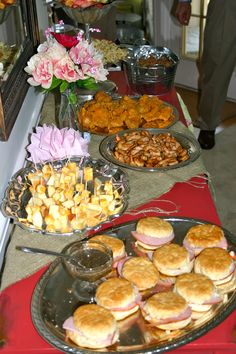 Kentucky Derby Party Food I like the idea of sticking with southern food