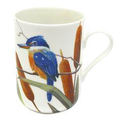 Maxwell and Williams Birds of Australia Eric Shepherd Mug 300ml Sacred Kingfishers
