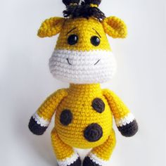 Today we prepared something interesting to let you enrich your amigurumi collection. Try this Baby Giraffe Crochet Pattern and share your results with us!