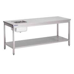 tables-du-chef-inox Tables, Furniture, Home Decor, Mesas, Decoration Home, Room Decor, Table, Home Furniture, Interior Design