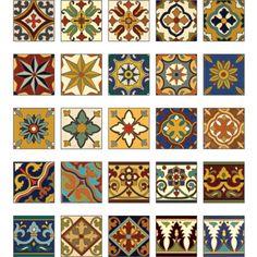Victorian tiles?