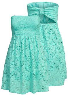 Madonna Bandeau Kleid Spitze HF152421-E LARA Dress allover Lace surf kaufen   77Store