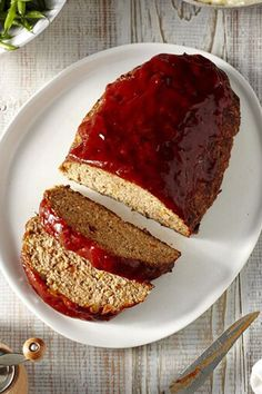 This is the ultimate, foolproof, turkey meatloaf that is every kind of comforting that you would want a meatloaf to be. This just may be the only meatloaf recipe you'll ever need. #dinnerideas #dinnerrecipes #dinnerdishes #familydinnerideas #supper #supperideas Meatloaf Recipes, Entree Recipes, Cooking Recipes, Healthy Recipes, Healthy Food, Dinner Recipes, Healthy Eating, Dinner Dishes, Chicken