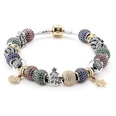 Pandora Oh, Christmas Tree Bracelet