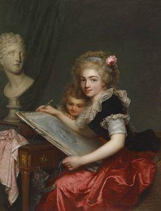 Antoine Vestier, Allégorie de l'art, 1788