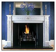 Fireplaces - Stone, Antique and Contemporary Fireplaces. Energy Efficient Fireplaces including Barbas Gas fires and Bellfires. Marble Hill firplaces for London, Surrey and all UK areas.