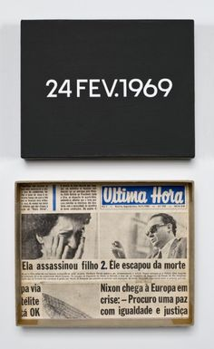 On Kawara – 24 FEV. 1969