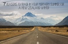 7 Reasons To Trade In Your Northern Summer For A New Zealand Winter! Patagonia, Rafting, New Zealand Winter, Skyline, Us Travel, South America, Mount Everest, Country Roads, Community