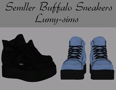 Sims 4 CC's - The Best: Semller Buffalo Sneakers by Lumy Sims