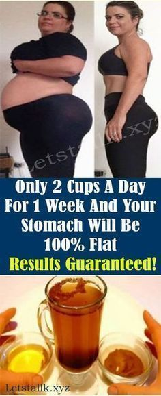Only 2 Cups A Day For 1 Week And Your Stomach Will Be 100% Flat – Let's Tallk