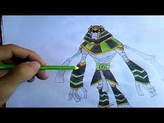 How To Draw Snare-Oh (Ben 10)