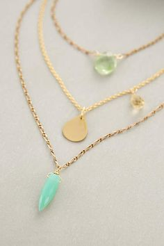 Tesoro Layered Necklace - anthropologie.com