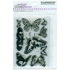 I'm learning all about Stampendous Perfectly Clear Stamps 4 X6 Sheet-Butterflies at @Influenster!