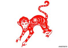 Image result for year of the monkey images Year Of The Monkey, Rooster, Animals, Image, Animales, Animaux, Roosters, Animal, Animais