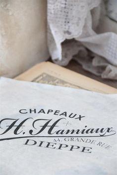French Decorative Transfers