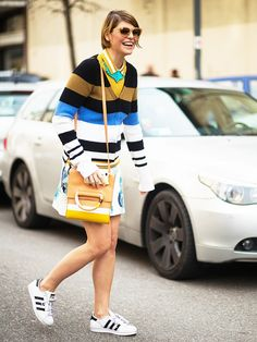 Want to Look Like a Fashion Girl? All You Need Are These Sneakers via @WhoWhatWear