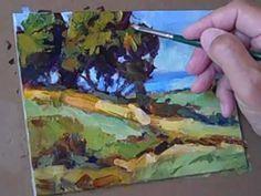 ▶ Tom Brown Paints A Landscape - YouTube