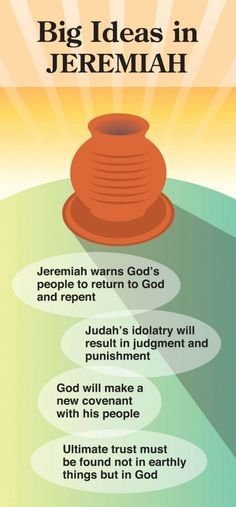 Big Ideas in Jeremiah