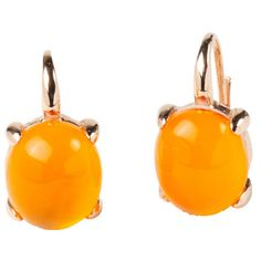 Rina Limor Sunrise Orange Color Crystal Bubble Earrings by Rina Limor ($190) ❤ liked on Polyvore featuring jewelry, earrings, crystal jewelry, earrings jewellery, orange crystal jewelry, polish jewelry and rose jewelry