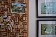 wine cork board #DIY