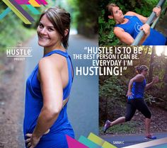 Hustling is to be the best person I can be. Every day I'm hustling! Sarah C, Be A Better Person, Hustle, I Can, Good Things, Canning, Day, Projects, Log Projects