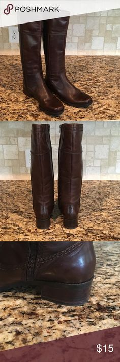 Bandolino boots Brown boots size 6 lightly worn Bandolino Shoes Heeled Boots