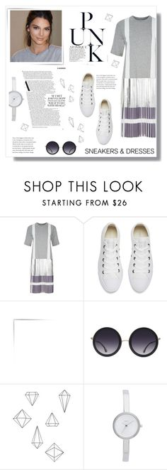 """""""Untitled #90"""" by sonja-br ❤ liked on Polyvore featuring Public School, Converse, Alice + Olivia, Umbra and DKNY"""