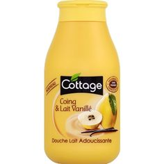 Douche lait adoucissante, Coing & Lait vanillé