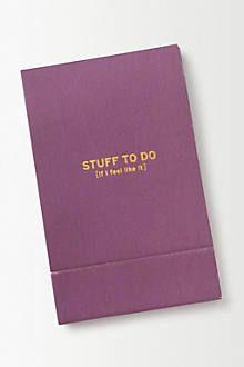 Mini Pocket Notes