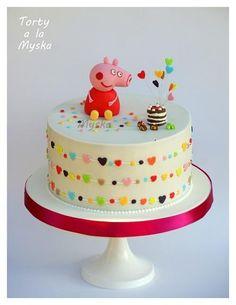 peppa celebrates - Cake by Myska