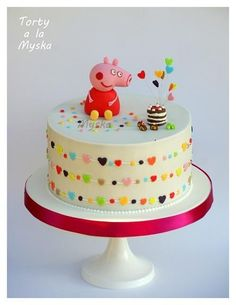 peppa celebrates - Cake by Myska