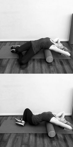 A foam roller routine for a slimmer waist. Aka, the perfect at-home workout.