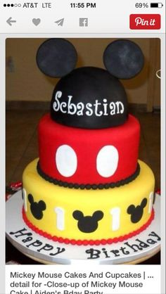 Mickey cake chocolate raspberry vanilla buttercream filling due august 16