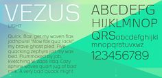 Vezus 100 Greatest Free Fonts Collection for 2013 - Awwwards - typefaces, webfonts, free fonts