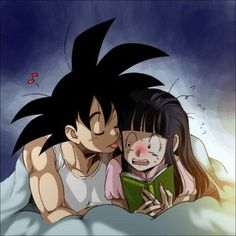 Goku & Chichi - Dragon Ball Love Fan Art (23351450) - Fanpop