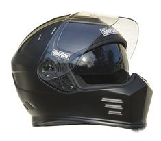 SIMPSON GHOST BANDIT HELMET ECE DOT ROAD LEGAL - Simpson Racing Motorcycle Riding Gear, Biker Helmets, Womens Motorcycle Helmets, Motorcycle Garage, Motorcycle Outfit, Motorcycle Girls, Victory Motorcycles, Honda Motorcycles, Vintage Motorcycles