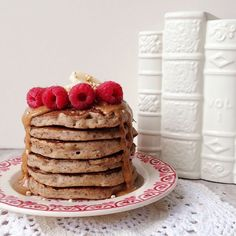 Vegan Gingerbread Buckwheat Pancakes | Naturally Meghan | Bloglovin'