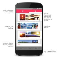 Android 5.0 Key Lime Pie Design Concept (Pics)