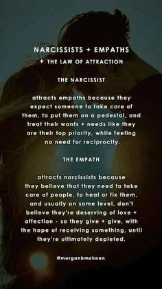 The narcissist and the empath Narcissist And Empath, Narcissistic People, Narcissistic Behavior, Narcissistic Abuse Recovery, Narcissistic Personality Disorder, Narcissistic Sociopath, Sociopath Traits, Narcissist Quotes, Abusive Relationship