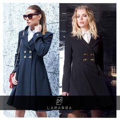 Lovely coat!❤️ The fashion fruit talks about Lamarca on  http://www.thefashionfruit.com/lamarca-coat/ @veronicaferraro #fashion #adorable #blogger #thefashionfruit #instalove #coat #winter #top #blackandgold #outfitpost #read #newsforyou www.lamarcaofficial.com