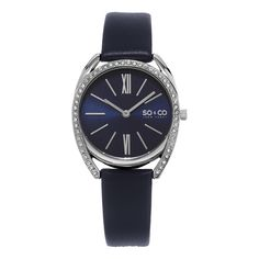 So&co New York Women's Quartz Austrian Crystal Strap Watch