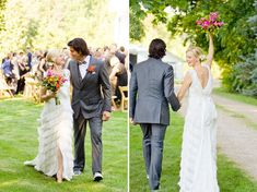 Amy Smart + Carter Oosterhouse's Eco-Friendly Wedding
