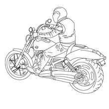 Harley Davidson Biker Coloring Page Welcome To Motorcycle Coloring Pages Enjoy Coloring The Harley Davidson Biker Coloring Page On Hellokids Com Good