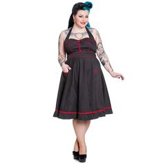 Vanity Plus - Vestido pinup en tallas grandes