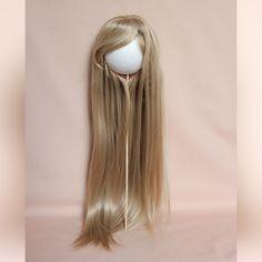 Comprar una peluca para muñecas con circunferencia de la cabeza 28-30 cm (diámetro 9-10sm). Cabello para muñecas, muñeca de la peluca. Peluca 45cm Longitud