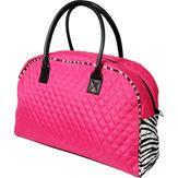 Athletic Duffel Bag - Hot Pink/Zebra