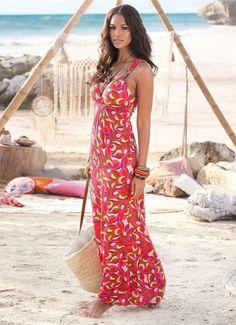 Resort Dress Trapeze Dress Cruise Dress Vacation Dress Cotton Pleated Beach Dress