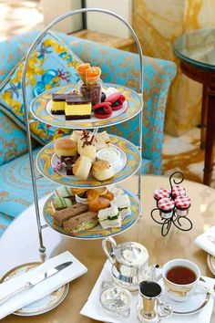 High tea @ Versace Queensland