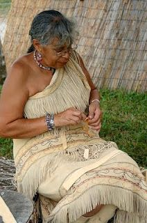 This is what the women wore http://stitchinguphistory.blogspot.com/2011/07/what-native-american-women-wore-pre.html