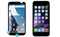 El nuevo Nexus 6 de Google fabricado por Motorola acaba de ser oficialmente presentado. Ya podemos comparar sus especificaciones técnicas a las del modelo que está reventando actualmente el mercado, el iPhone 6 de Apple.